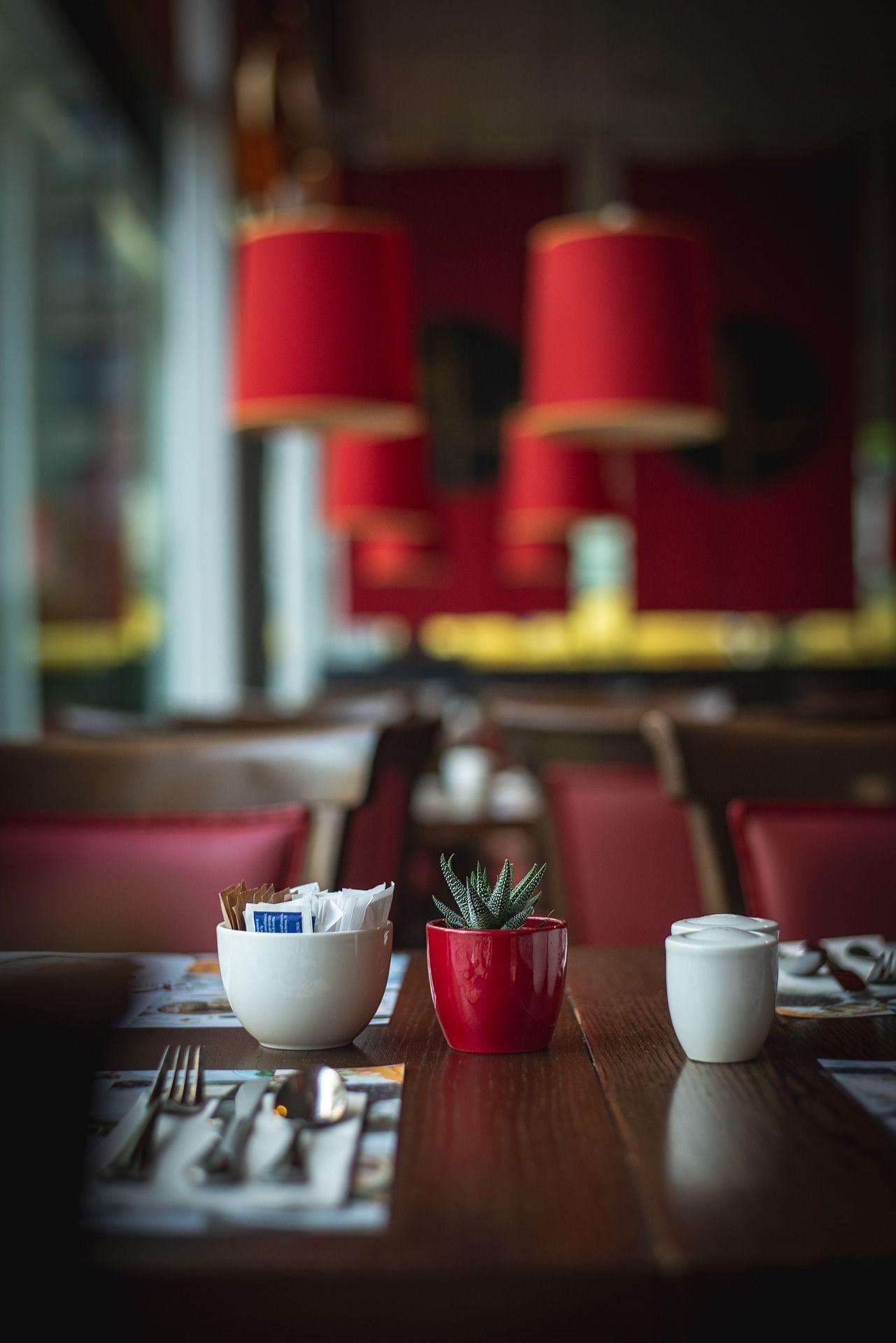 Salle du restaurant Le Cercle